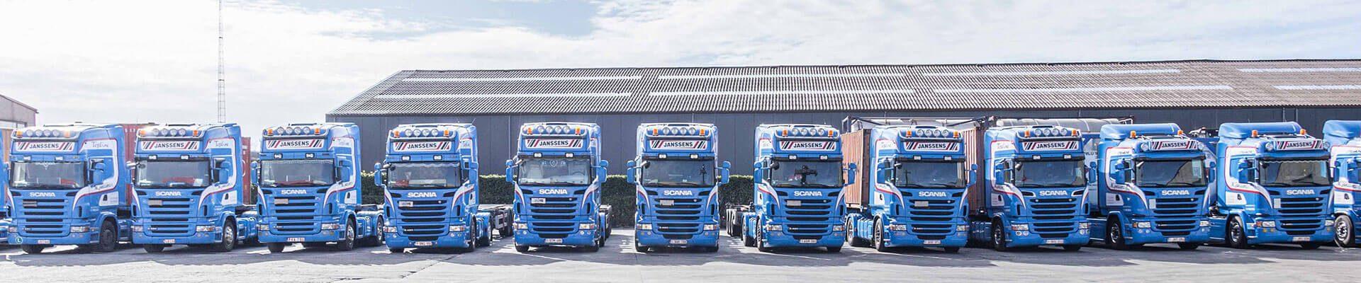 vrachtwagen transportbedrijf